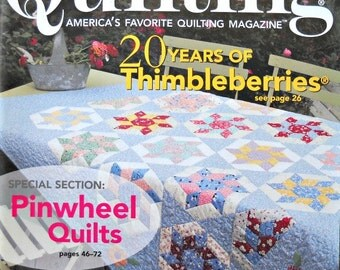 Fons and Porter's Love of Quilting Magazine, May/June 2008 Issue