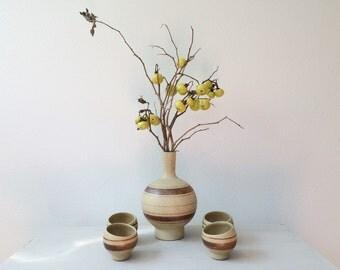 vintage Sake set