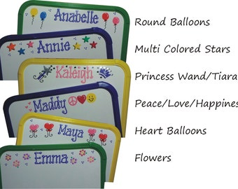 Personalized White Board with Pen - Wipe Board - Dry Erase Board - Personalized Party Favor - Gift Wrapped