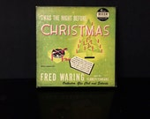 Vintage Decca Records Twas The Night Before Christmas 45 RPM Box Set 9-67 By Fred Waring and his Pennsylvanians 1949