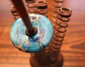 Bottom Whorl - Aqua Terra Jasper - 50mm
