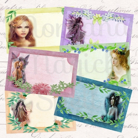 Faerie Apothecary Labels - Printable