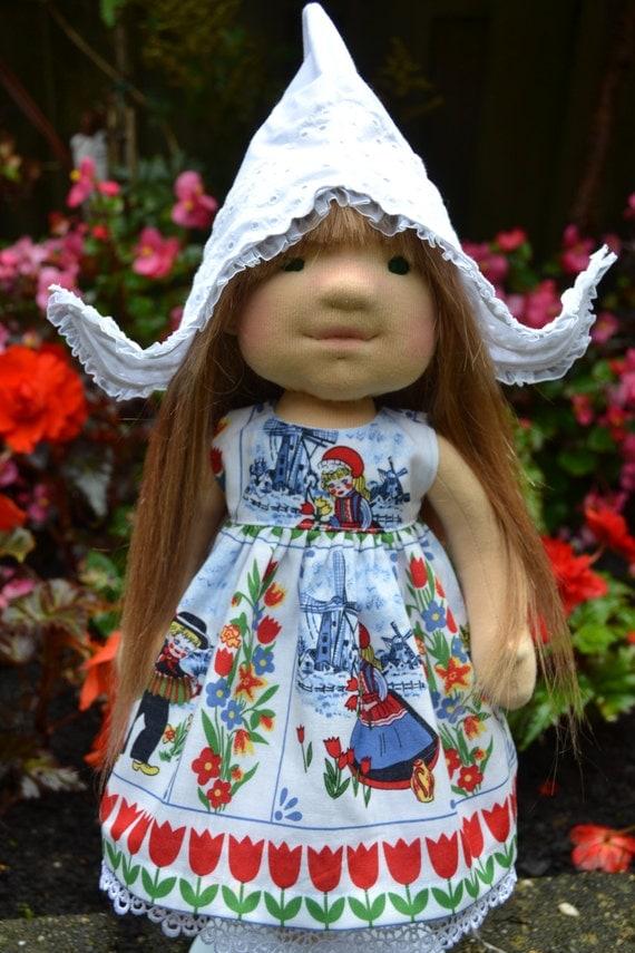 Waldorf doll fabiola waldorf doll steiner doll fabric - Material waldorf ...