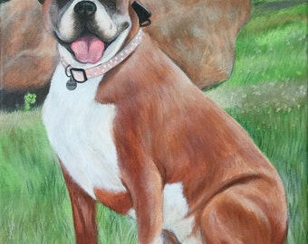 "Shop ""boxer dog gifts"" in Pet Portraits"