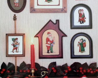 Counted Cross Stitch Pattern MORE ANTIQUE SANTAS Unlimited By Designing Women Unltd.