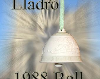 Lladro 1988 Ceramic Bell