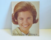 Vintage 1968 Growing Up And Liking It Pamphlet from Modess
