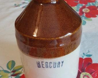 Vintage Mercury Jug