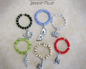 New Orleans Wine Charms Set