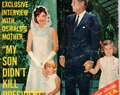 JFK Assassination - July 1964 - Interview With Oswald's Mother -  Presidential History - Barbara Streisand Interview - 1960s History