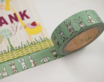 Funny Rabbit Washi Tape (10M)