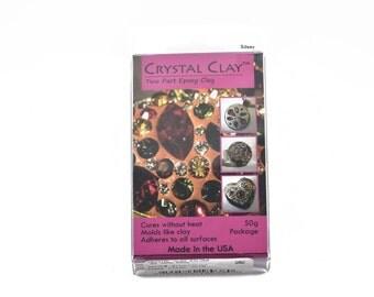 50g Crystal Clay Epoxy Clay - SILVER, cla0004