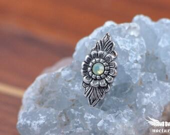 Boho Style Bindi Sticker with Swarovski Crystal - Bellydance Bindi Costume Accessories Body Art - Tribal Jewelry