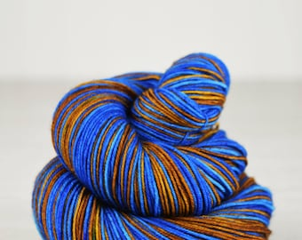 Elation Sock {The Wise} Self Striping - Ravenclaw Inspired