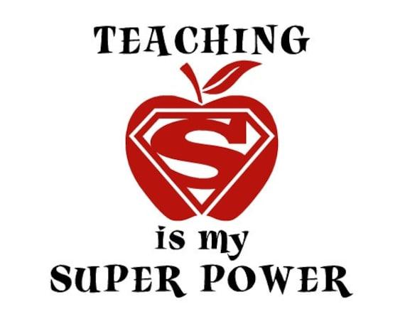 Items Similar To Teacher Decal Super Teacher Decal