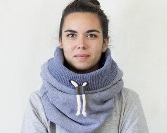 Snood, loop scarf, winter accessory, women's cowl scarf, Snock®