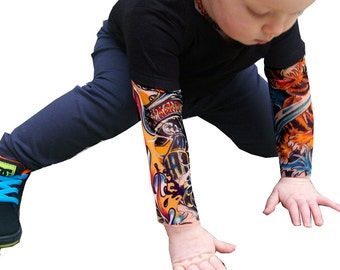Flamer Baby Tattoo Sleeves