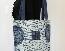 ON SALE Ladies African Tote/Shopping Bag
