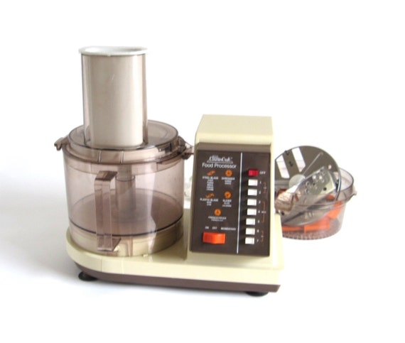 American Made Juicer ~ Sears counter craft food processor with juicer by
