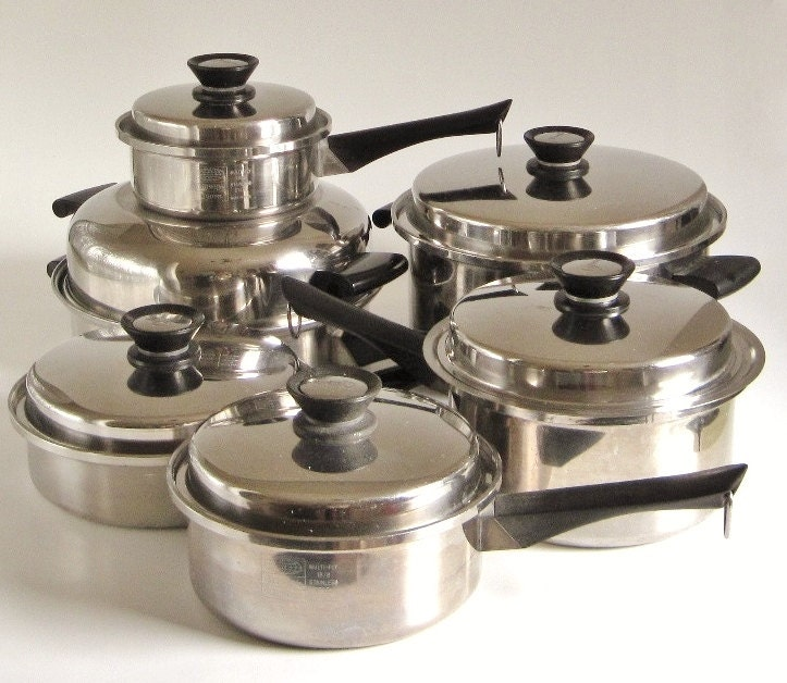 Presto Pressure Cooker Parts Amway Queen Cookware Set 15 pieces Dutch Oven by ...