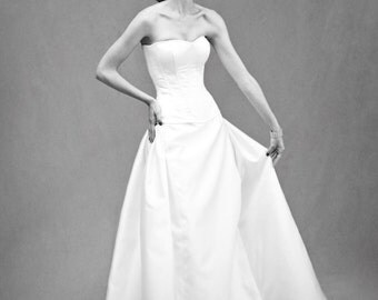 Gorsket Bodice – Custom Bridal Separates – Custom Wedding Dress – Bridal Couture by Jill Andrews Gowns