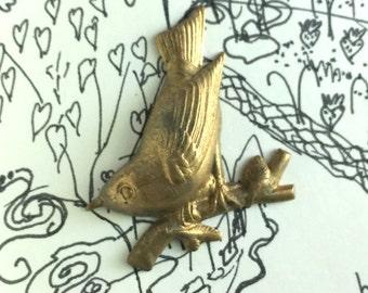 Vintage Rare Finch Bird (1 pc)