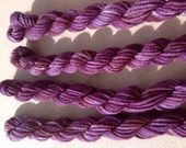 Hand Dyed Yarn - Passion Purple