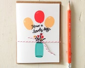 Have a Lovely Day Card - Everyday