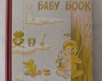 vintage book, Berenstain's Baby Book, 1951, from Diz Has Neat Stuff