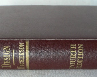 vintage book, Route Surveys and Design, 1959, engineering book, from Diz Has Neat Stuff