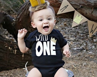 Wild One onesie® or shirt / Birthday Shirt / Wild One Shirt / Where the wild things are shirt Top /sibling shirt, family photos