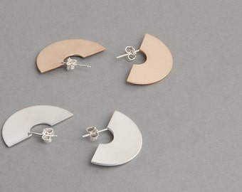 Silver or Gold-Fill Solar Earrings | Voyager Collection from Haley Lebeuf