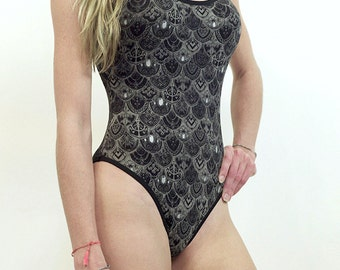 Womens Body Suit - Ophelia's Armor Body Suit - womens tops - body suit armor