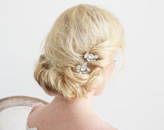 Crystal Hair Pins Bridal Special Occassion Hair Accessories
