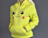 1/6th scale female hoodie / sweater
