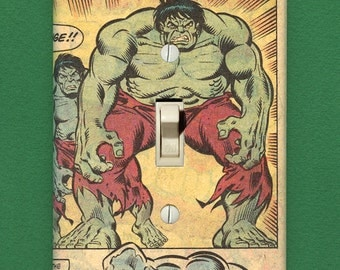 Hulk - Superhero Light Switch Plate - One-of-a-Kind