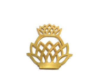 Brass Pineapple Trivet Brass Pineapple Hot Plate Pineapple Pot Holder Brass Pineapple Trivets Brass Pineapple Decor