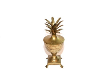 Pineapple Urn Brass Pineapple Urn Pineapple Container Brass Pineapple Brass Pineapple Bar Pineapple Home Decor
