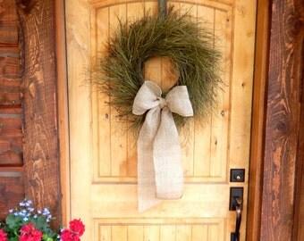 Spring Wreath-Twig Wreath-Beach Wreath-Beach Home Decor-Housewarming Gift-Rustic Twig Wreath-Year Round Wreath-Coastal Home Decor-Gifts