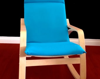 Poang chair cover etsy - Chairs similar to poang ...
