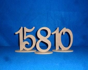 wedding table number - Wooden Table Numbers - 1-20 - DIY -  Wood number - wooden number -  event number - table number diy
