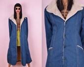 70s Denim Coat
