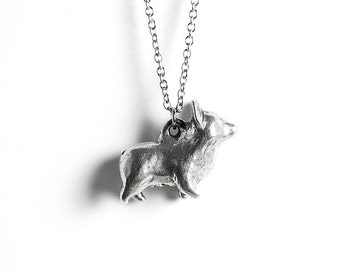 Corgi Jewelry, Corgi Necklace