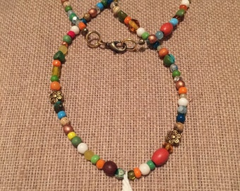 Birdie Beaded Necklace