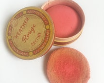 1930 HEATHER ROUGE Daytime vintage makeup collectible