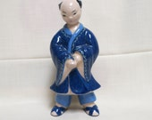 Vintage Kay Finch Oriental Boy Hand Painted