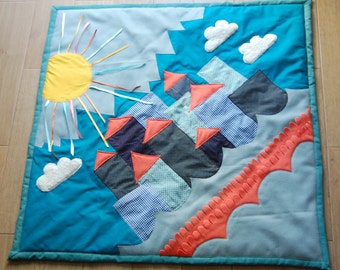 Comfy Baby playmat, The city