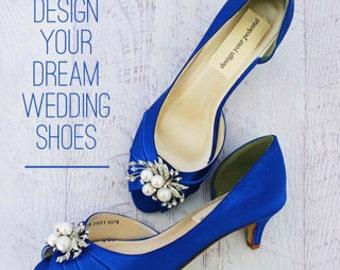 CUSTOM CONSULTATION: Wedding Shoes, Design Your Own Wedding Shoes, Custom Wedding  Shoe,