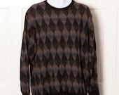 90s Men's Diamond Light-weight Sweater - TSR