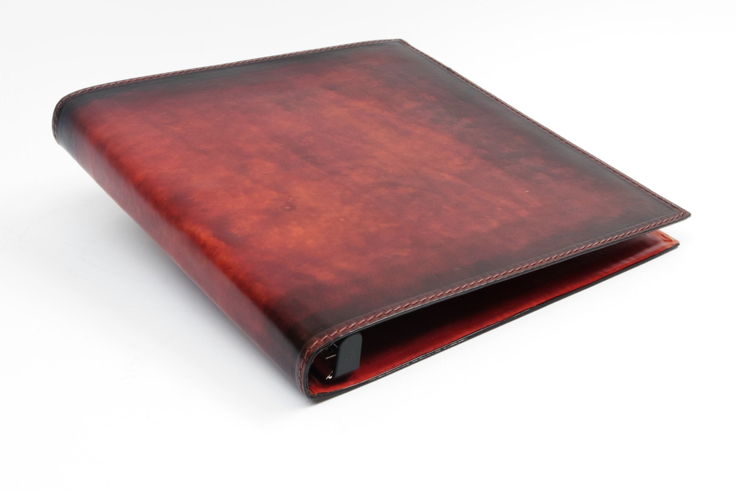 Inch  Ring Binder Leather